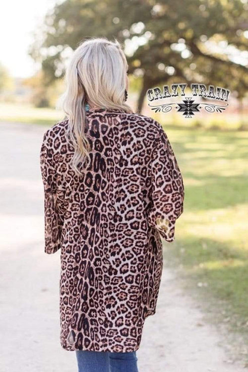Clothing Kitty Kitty Bang Bang Kimono by Crazy Train One Size Crazy Train