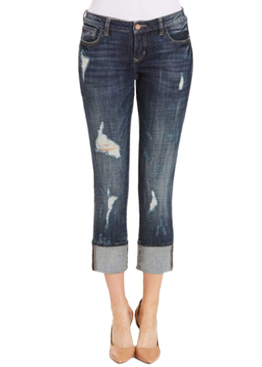 Clothing Dear John Denim Playback Cuffed Capri in Emmitt 24 (00) Dear John Denim