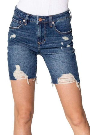 Clothing Dear John Bermuda Short Ruthie in Dusty Rive Dear John Denim