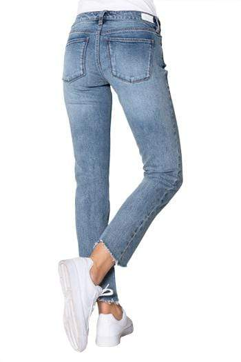 Clothing Dear John Erin Slim Straight Jean in Subdued Dear John Denim