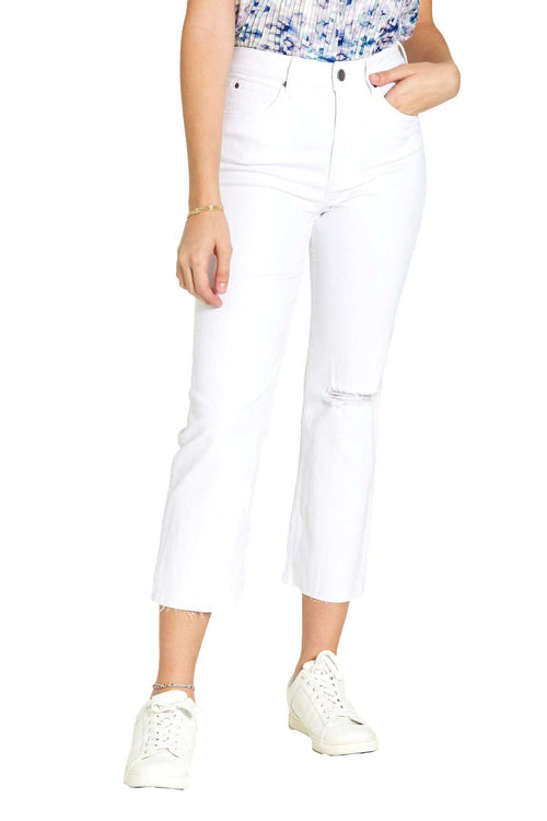 Clothing Dear John Frankie Relaxed Jean in Optic White Dear John Denim