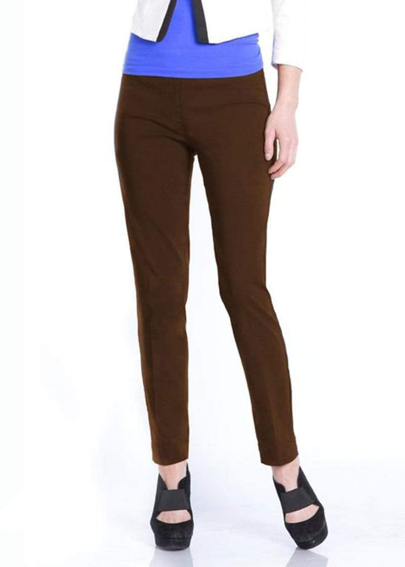 Clothing SlimSation Narrow Pant in Chocolate Chocolate / 6 Slimsation