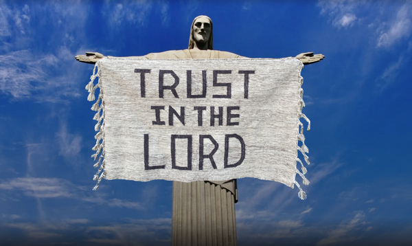 TRUST IN THE LORD rug