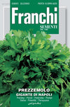 Franchi Gigante di Napoli Parsley Seeds