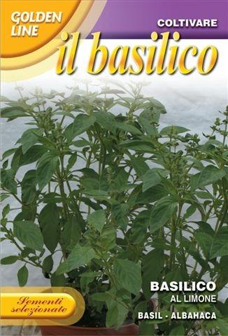 Golden Line Franchi Lemon Basil Seeds