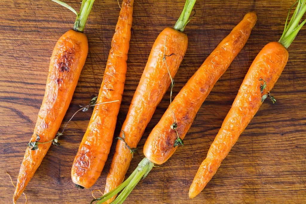Honey Glazed Carrots With Fresh Thyme