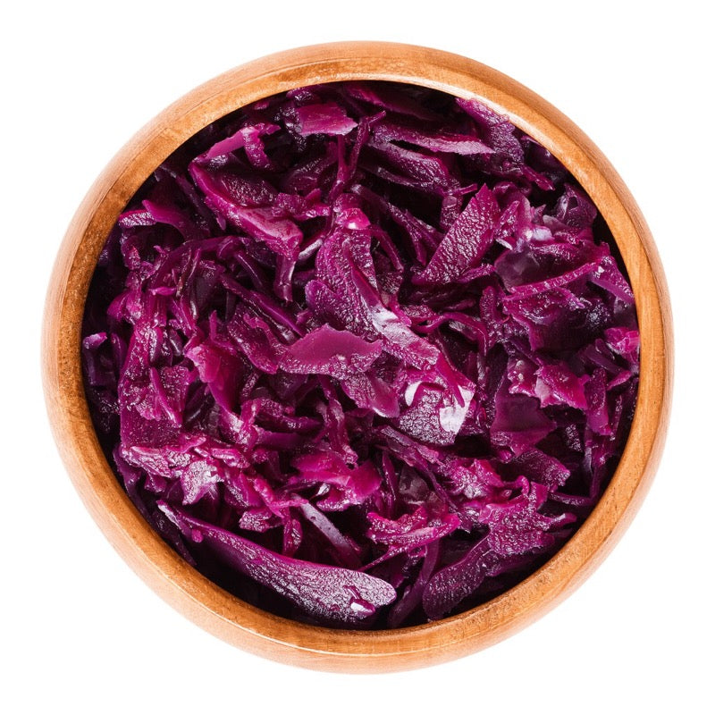 Sweet & Sour Braised Red Cabbage