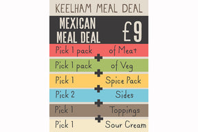 A Sizzling Mexican Meal Deal