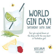 World Gin Day - The Yorkshire Way