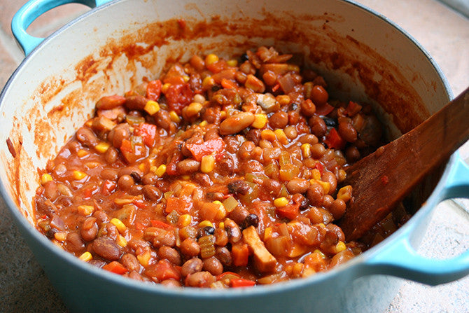 Hearty Bean Chilli