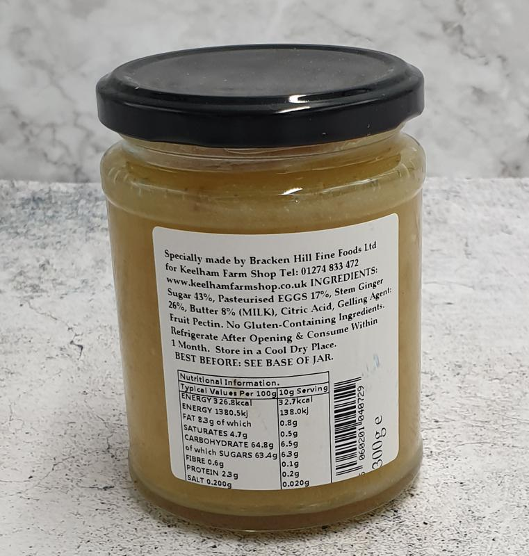 Load image into Gallery viewer, Keelham Ginger Curd 310g