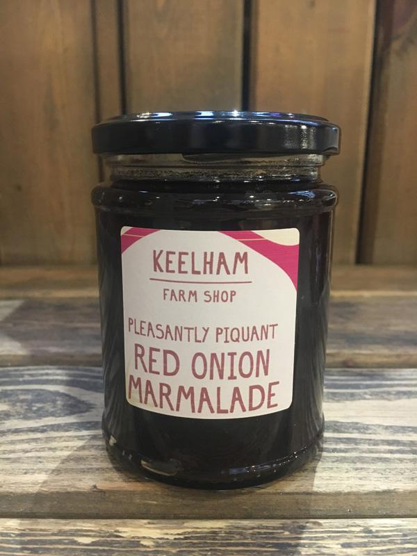 Load image into Gallery viewer, Keelham Red Onion Marmalade 340g