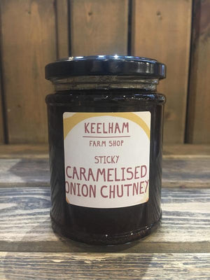 Load image into Gallery viewer, Keelham Caramelised Onion Chutney 320g