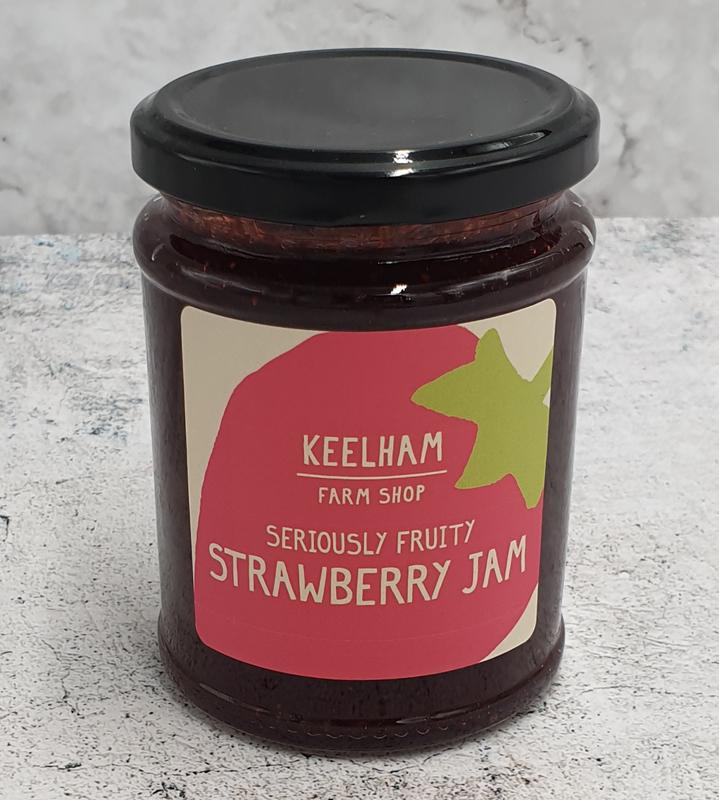 Keelham Strawberry Jam 340g