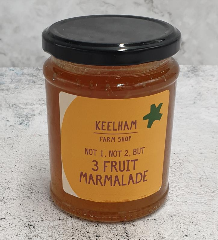 Keelham Three Fruit Marmalade 340g