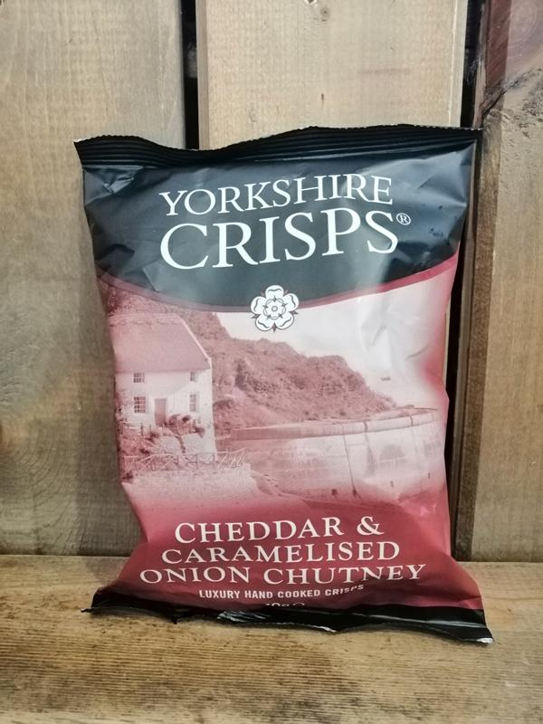 Yorkshire Crisps Cheddar & Onion 40g
