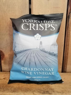 Load image into Gallery viewer, Yorkshire Crisps Chardonnay Wine Vinegar 40g