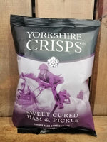 Yorkshire Crisps Ham & Pickle 40g
