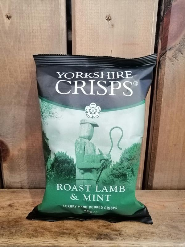 Yorkshire Crisps Lamb & Mint 40g