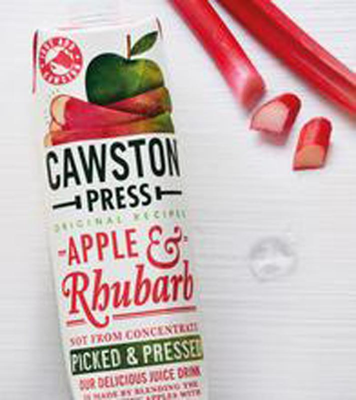 Load image into Gallery viewer, Cawston Press Apple Rhubarb 1L