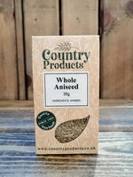 Country Products -  Aniseed Whole 35g