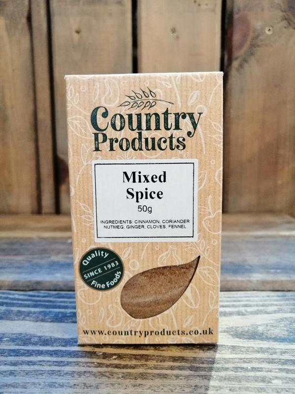 Country Products -  Mixed Spice 50g