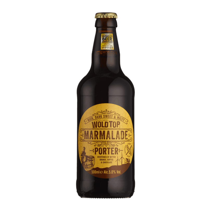 Wold Top Marmalade Porter GF 500ml