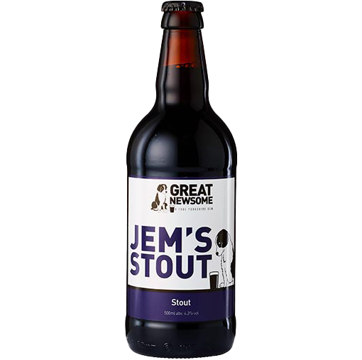 Great Newsome Jems Stout 500ml