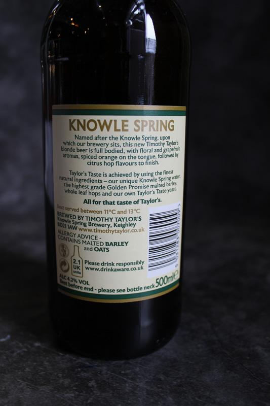Load image into Gallery viewer, Knowle Spring Blonde 4.2% 500ml