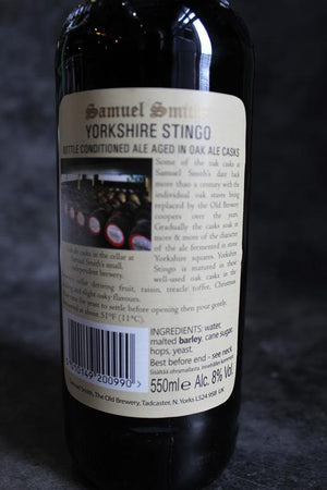 Load image into Gallery viewer, Samuel Smith Yorkshire Stingo 550ml