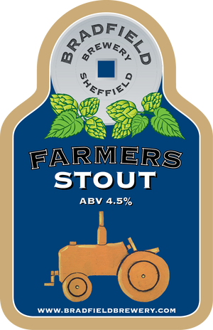 Load image into Gallery viewer, Bradfield Farmers Stout 500ml