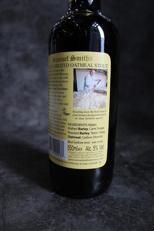 Load image into Gallery viewer, Samuel Smiths Oatmeal Stout 550ml