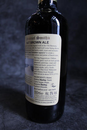 Load image into Gallery viewer, Samuel Smiths Nut Brown Ale 550ml