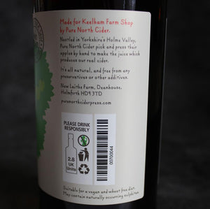 Load image into Gallery viewer, Keelham Proper Yorkshire Cider 500ml