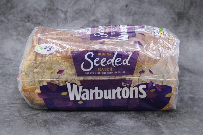 Warburtons Seeded Batch 800g