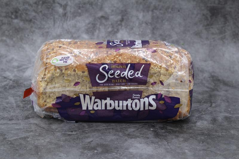 Warburtons Seeded Batch 400g