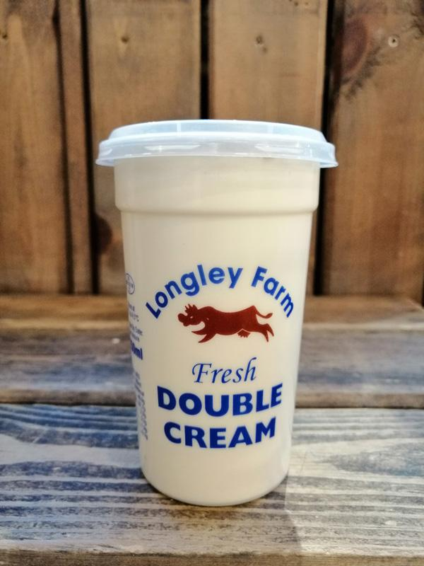 Longley Farm - Double Cream 250ml