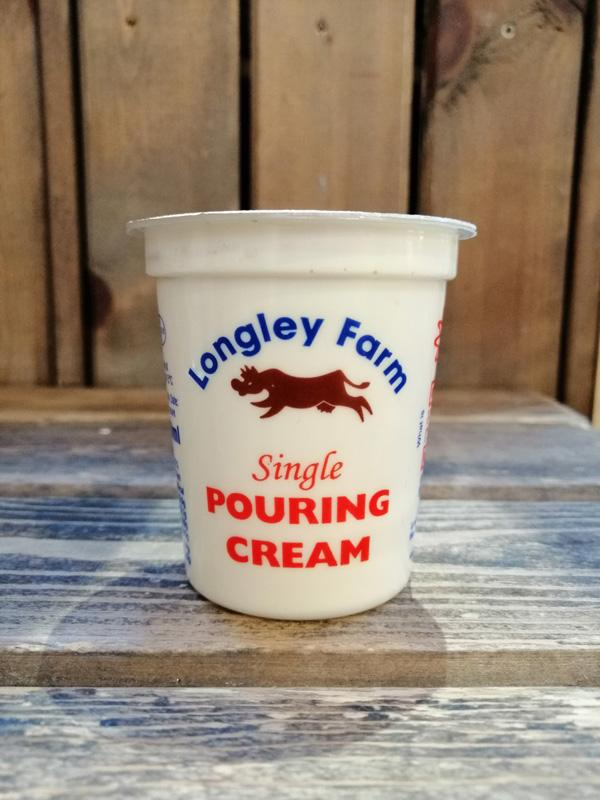 Longley Farm - Jersey Single Cream 150ml