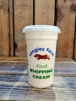 Longley Farm - Whipping Cream 250ml