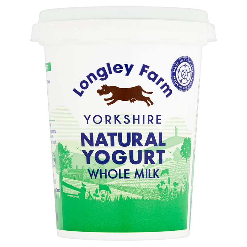 Longley Farm - Natural Yoghurt 450g