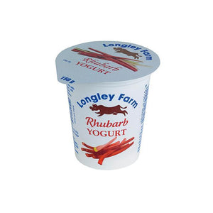 Load image into Gallery viewer, Longley Farm - Rhubarb Yoghurt 150g