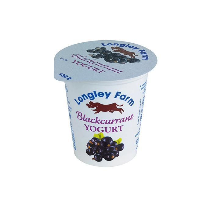Longley Farm - Blackcurrant Yogurt 150g
