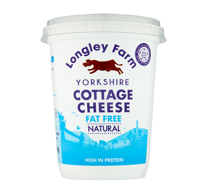 Load image into Gallery viewer, Longley Farm - Fat Free Cottage Cheese 450g