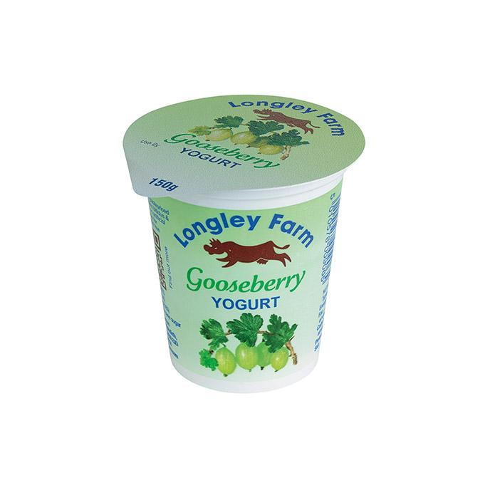 Longley Farm - Gooseberry Bio Yoghurt 150g
