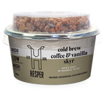 Hesper Farm Skyr Yoghurt - Cold Brew Coffee & Vanilla with Granola 125g