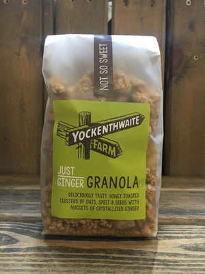 Load image into Gallery viewer, Yockenthwaite Farm Just Ginger Granola 475g