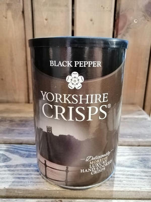 Load image into Gallery viewer, Yorkshire Crisps Black Pepper 100g