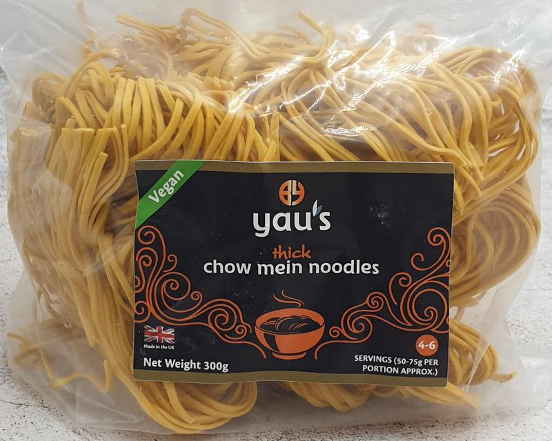 Yaus Thick Chow Mein Noodles