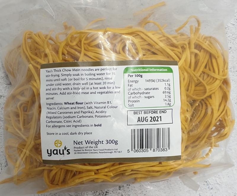 Load image into Gallery viewer, Yaus Thick Chow Mein Noodles