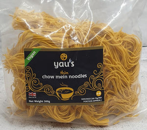 Load image into Gallery viewer, Yaus Thin Chow Mein Noodles 300g